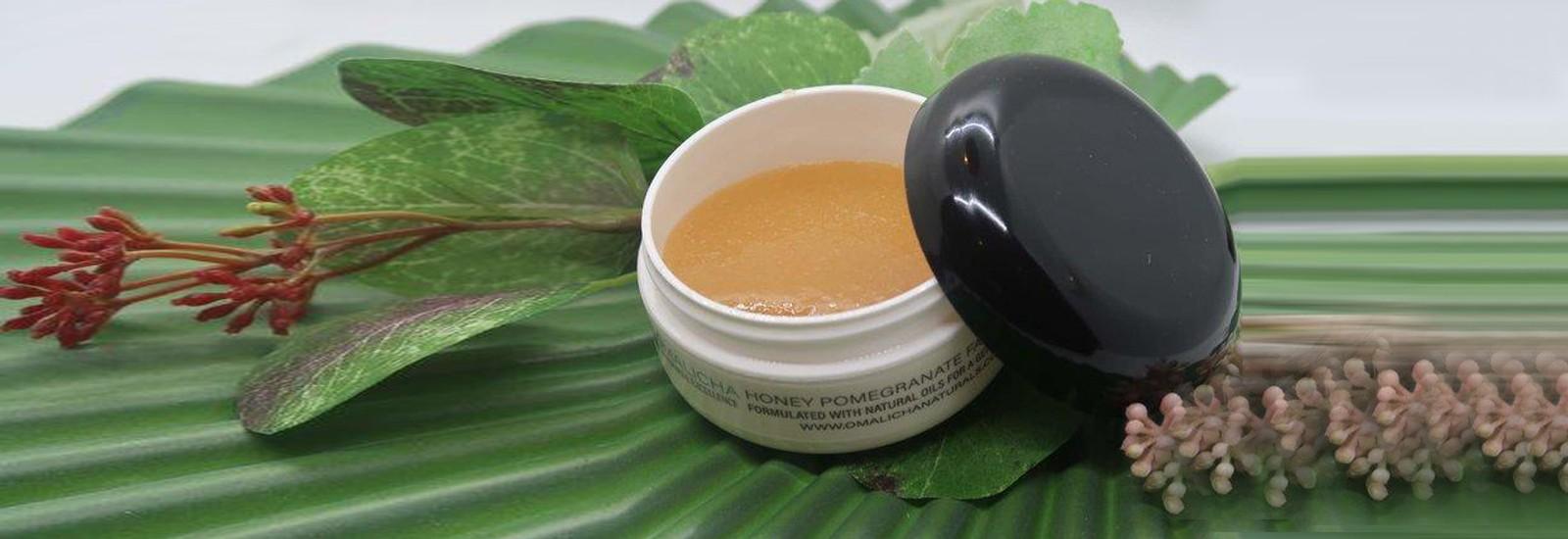 Honey Pomegranate Facial Scrub