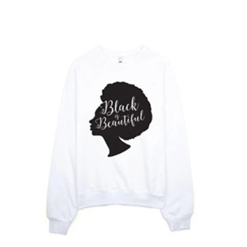 BlackOwnedBusiness BON BON VIE Black Is Beautiful . Sweatshirt