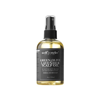 BlackOwnedBusiness EARTH'S NECTAR GREEN OLIVE & LAVENDER SCALP OIL