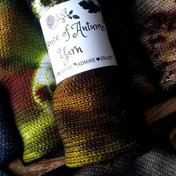 BlackOwnedBusiness ESSENCE OF AUTUMN YARN Essence Of Autumn Yarn