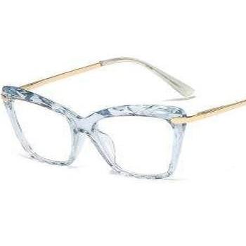 BlackOwnedBusiness EYEESSENTIALS CrystalsTransparentEyeglasses