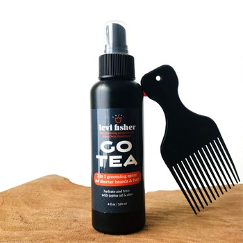 GO TEA HERBAL GROOMING SPRAY FOR SHORT HAIR & BEARDS