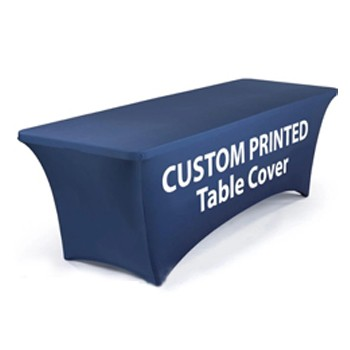 BlackOwnedBusiness BACKDROP CITY Fabric Exhibition Table Covers