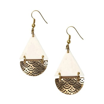 BlackOwnedBusiness I'M BLACK TOO Anika Teardrop Earrings