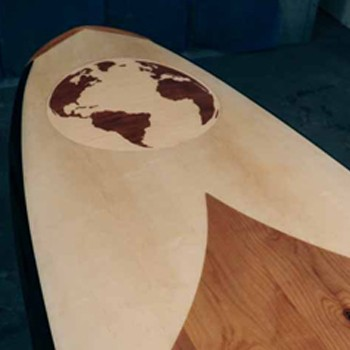 BlackOwnedBusiness JARVIS BOARDS PROJECT WORLD TRAVELER SAN MARCOS MODEL WOOD PADDLE BOARD